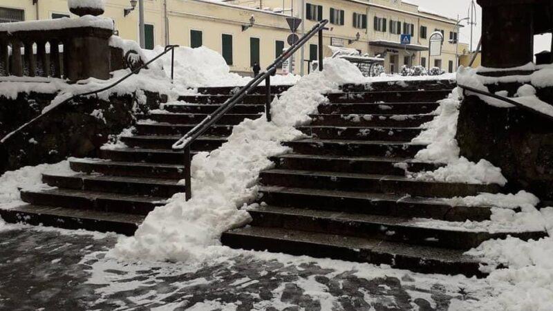 La scalinata della stazione? L'ho pulita io!