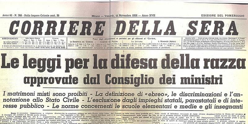 Le leggi razziali non ci furono imposte dalla Germania, parola di Mussolini