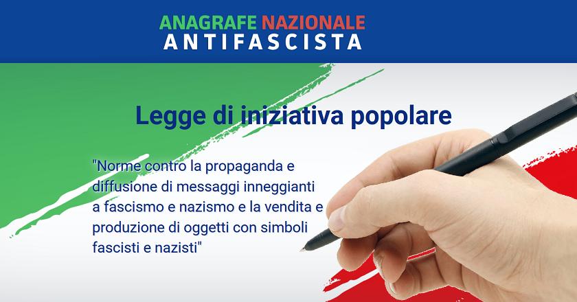 Una firma per l'Italia – Una firma antifascista
