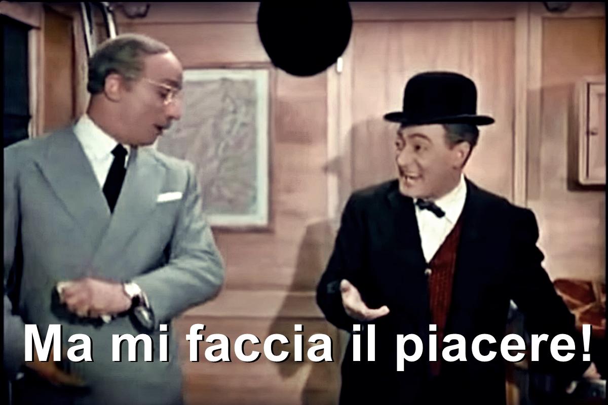 """41 milioni a Novi  per la ripartenza. Li gestirà la giunta Cabella? """"Ma mi  faccia il piacere!""""  direbbe Totò"""