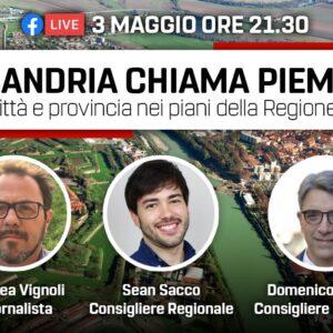 Alessandria chiama Piemonte, opposizioni in Regione a confronto