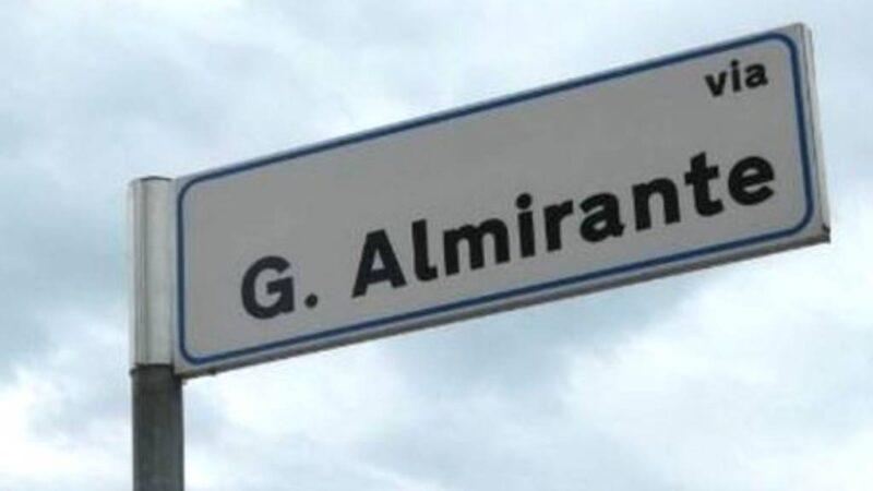 """""""L'avrai camerata Almirante la via che pretendi da noi italiani"""""""