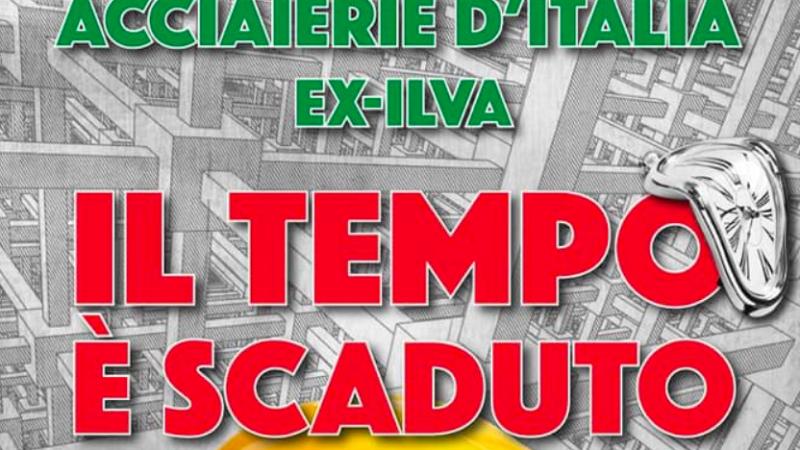Domani lo sciopero dei lavoratori ex-Ilva. Adesione anche dei Dem