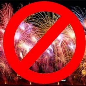 Niente fuochi d'artificio per la fiera, Cabella: rischio assembramenti