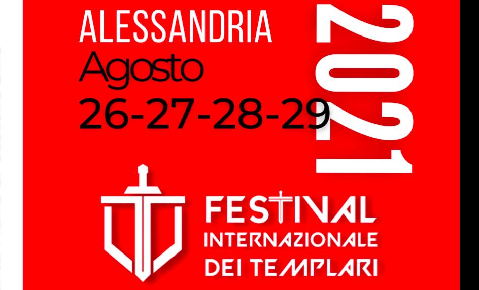 Dal 26 al 29 agosto ad Alessandria il festival internazionale dei templari
