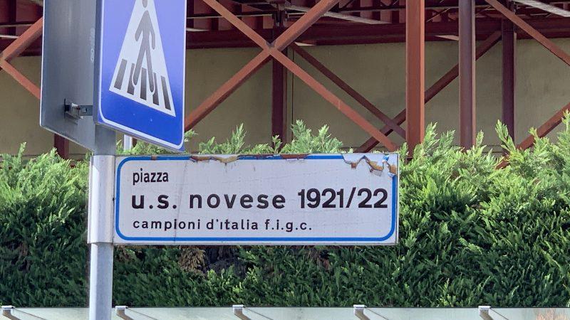 """L'idea di Perocchio: """"intitoliamo una piazza alla Novese"""". Peccato che ci sia  già!"""