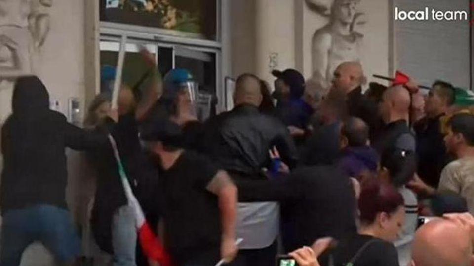 Attacco fascista a Roma, oggi presidi in tutte le Camere del Lavoro